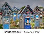 romania  sapanta   merry... | Shutterstock . vector #686726449