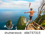 family vacation lifestyle.... | Shutterstock . vector #686737315