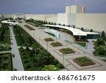 Park Architecture Render. 3d...
