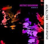 abstract vector background in...   Shutterstock .eps vector #686778709