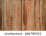 Fragment Of An Old Wooden Door...
