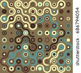 seamless geometric pattern with ...   Shutterstock .eps vector #686794054