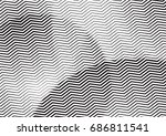 abstract background with lines... | Shutterstock .eps vector #686811541