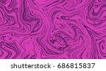 marble pattern seamless texture ... | Shutterstock .eps vector #686815837