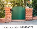 Garden Rustic Entrance Gate...