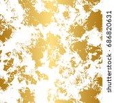 golden and white seamless... | Shutterstock .eps vector #686820631