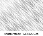 abstract background with lines... | Shutterstock .eps vector #686823025