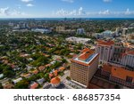 Aerial image of Coral Gables FL