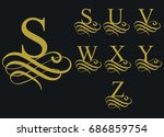 Curly Caligraphic Font  ...