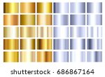 gold  steel  iron or silver... | Shutterstock .eps vector #686867164