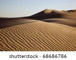 imperial sand dunes | Shutterstock . vector #68686786