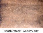 copper or brass background ... | Shutterstock . vector #686892589