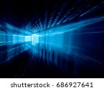 abstract background element.... | Shutterstock . vector #686927641