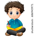 vector illustration of little...