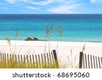 Beautiful White Sands And...