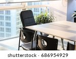 empty business conference room... | Shutterstock . vector #686954929