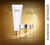 Luxury Cosmetic Template For...
