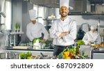 Famous Chef Of A Big Restauran...