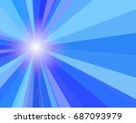 blue banner  flyer  card.... | Shutterstock .eps vector #687093979