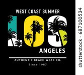 t shirt graphics   vector print ...   Shutterstock .eps vector #687100534