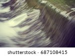 photo by long exposure style ... | Shutterstock . vector #687108415