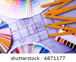 color samples for selection... | Shutterstock . vector #6871177