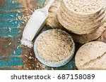Healthy Puffed Rice Cakes...