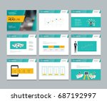 layout design template for... | Shutterstock .eps vector #687192997