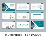 layout design template for... | Shutterstock .eps vector #687193009