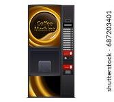 Coffee Machine Design  Isolated ...