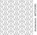 seamless pattern with stylize