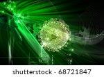 digital  illustration  of... | Shutterstock . vector #68721847