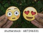 sao paulo  brazil   july 31 ... | Shutterstock . vector #687246331