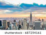 new york  united states  ... | Shutterstock . vector #687254161