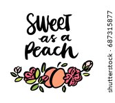 """the calligraphic quote """"sweet... 