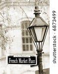 Historical French Market In Ne...