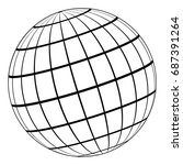 Globe 3d Model Of The Earth Or...