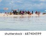 virgin island of panglao ... | Shutterstock . vector #687404599