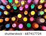 suphanburi  thailand   july 9 ... | Shutterstock . vector #687417724