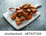 Baked Chicken Wings With Sesame ...
