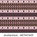 striped  seamless pattern.   Shutterstock . vector #687447649