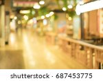 out of focus background  ... | Shutterstock . vector #687453775