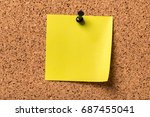 post. | Shutterstock . vector #687455041