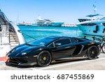 puerto banus  spain  june 28... | Shutterstock . vector #687455869