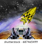 Space Shuttle Starting From Th...