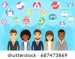 the business concept. the...   Shutterstock .eps vector #687473869