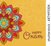 beautiful card  banner or... | Shutterstock .eps vector #687495304