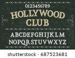 handcrafted vector script...