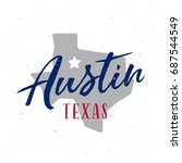 Austin Texas T Shirt Design....