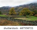 British Autumn Landscape Scene...